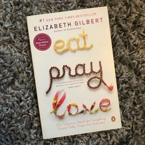 Eat Pray Love paperback